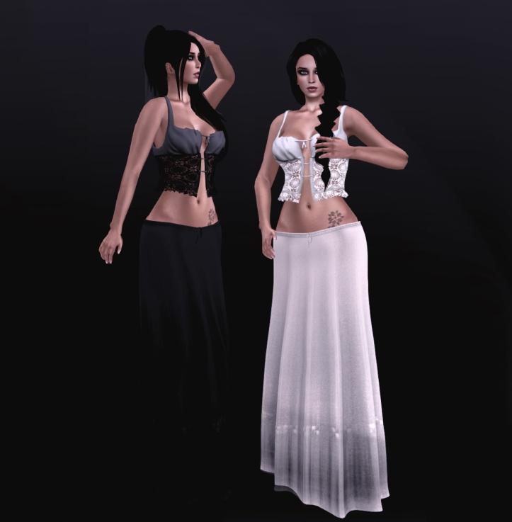 .:TBO:. Eva - boho outfit - Natural white & Charcoal