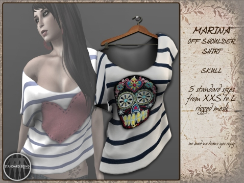 Marina skull