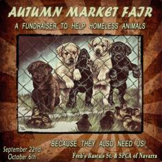 Autumn Market Fair - SPCA Fundraiser LOGO