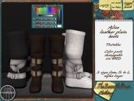Alice plain boots 99L