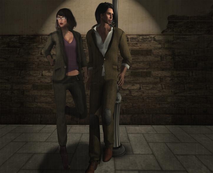 Jack & Rose - tweed suits