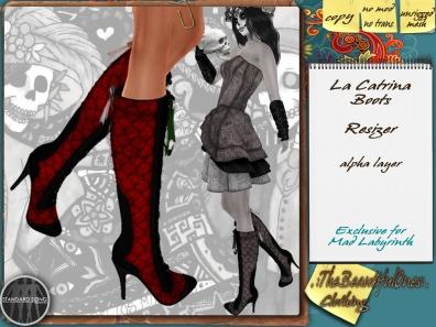 LaCatrina Boots - 5L