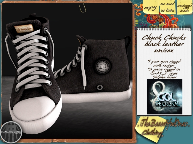 Chuck Chuks Leather Unisex