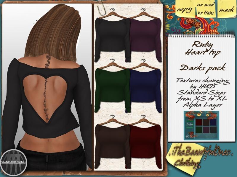 Ruby- darks pack