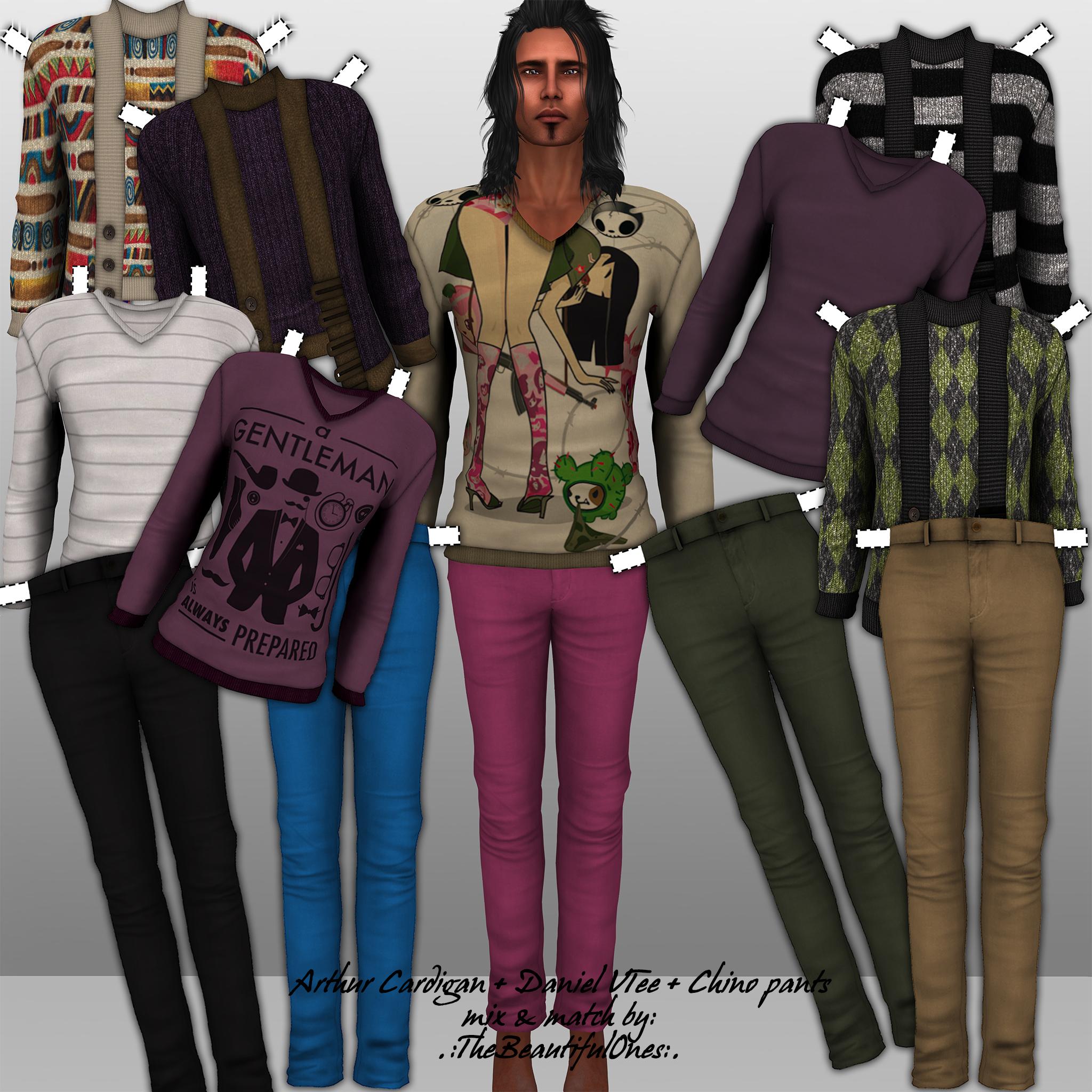 Mix & match clothing store