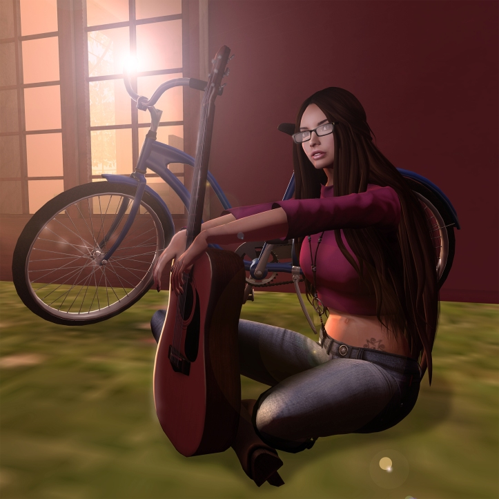 Meiko top & Selene jeans main