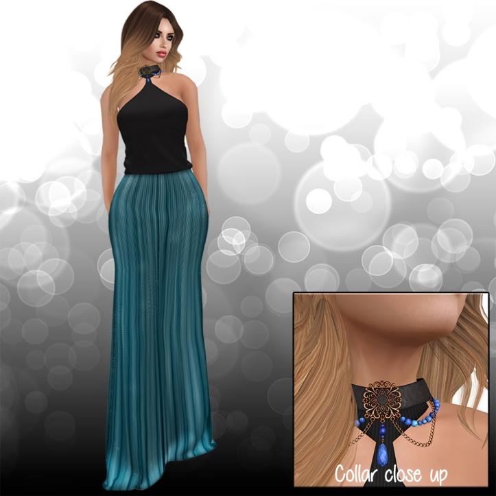Karen dress sapphire