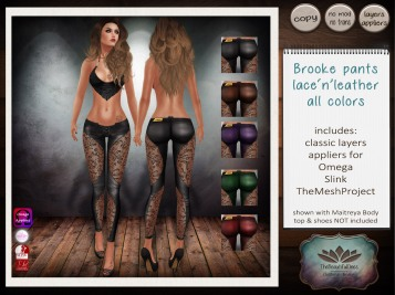 Brooke leather all colors